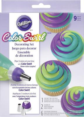 Wilton® ColorSwirl™ 3-Color Coupler Decorating Kit, 9-Pc.