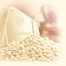 Callebaut couverture chocolate, 26,2%, White, 200 g.