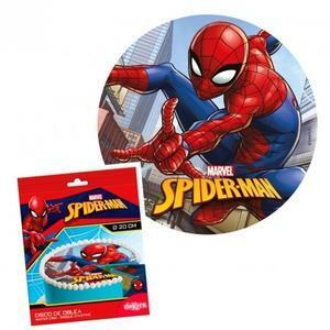 Spiderman, sugar wafer picture, 20 cm.