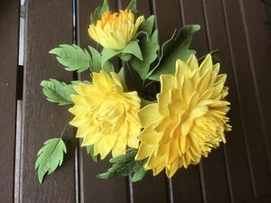 Dahlia flower class with Carol Haycox, Saturday 4. May 2019 from 10.00 to 16.30