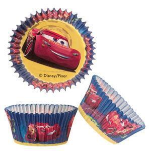 Cars standard baking cups, 75 pieces