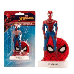 Spiderman 3D candle 9 cm.