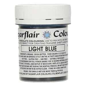 Light Blue cocoabutter 35 g. Sugarflair