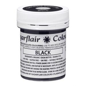 Black cocoabutter 35 g. Sugarflair