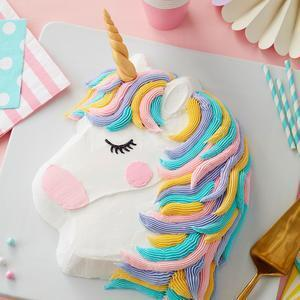 Party Pony Pan, 35 x 25 cm. - Unicorn baking pan