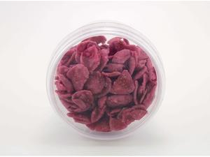 Candied Rose leafs, medium, 25 g.