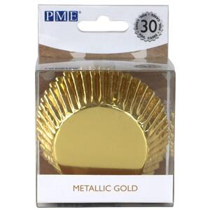 Gold Foil Standard Baking Cups, 30 pieces