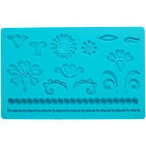 Damask Fondant and Gum Paste Silicone Mold