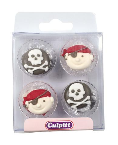 Pirates Sugar Pipings, 12 pc.
