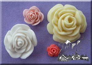 Roses 4 in 1 silicone mould
