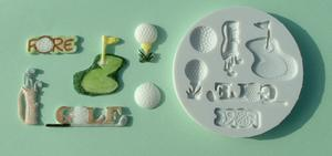 Golf silicone mould