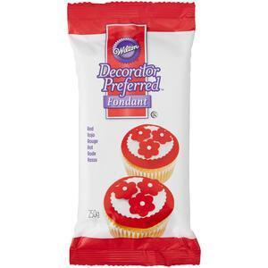 Wilton Red Decorator Preferred Ready fondant, 250 g.