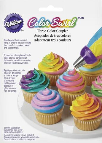 Wilton® ColorSwirl™ 3-Color Coupler Decorating Kit,
