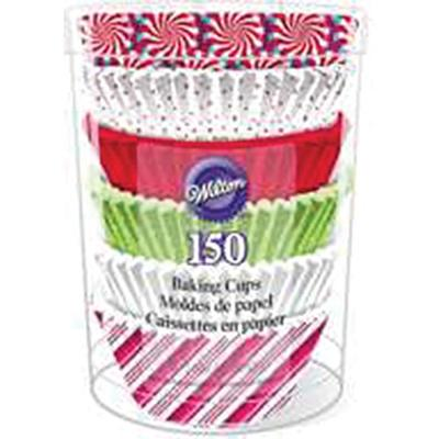 150 ps. holiday xms standard baking cups