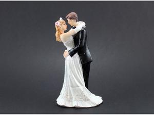 Wedding cake topper 12,7 cm.