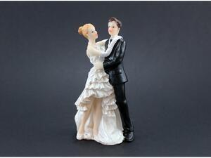 wedding cake topper 11,5 cm.