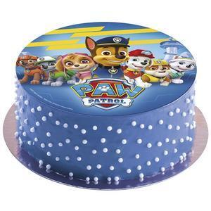 Paw Patrol, sugar wafer picture, 20 cm.