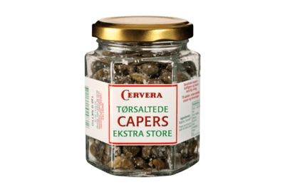 Dry salted capers 120 g.