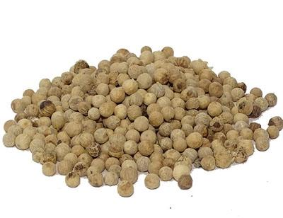 White pepper, whole 100 g.