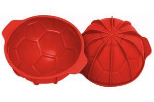 Soccer silikone baking mould