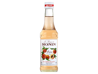 Monin Peach Syrup 250 ml.