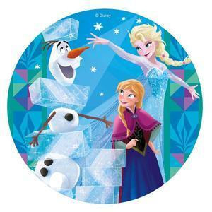 Sugar Wafer Pictures, Frozen, 20 cm. figur 2