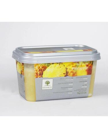 Pineapple puree. 1 kg. frozen