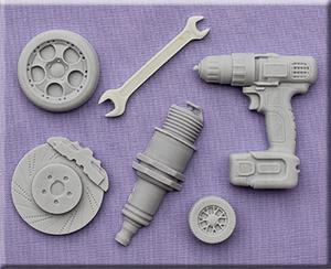 Mechanic silicone mould