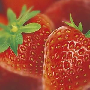 Strawberry puree, 1 kg. frozen