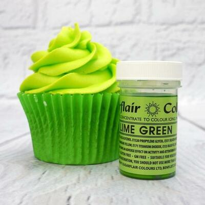 Lime Green icing color 25 g.