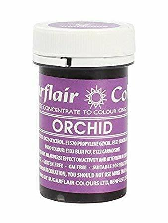 Orchid icing color 25 g.