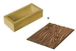 Magic Wood silicone baking mould and mat