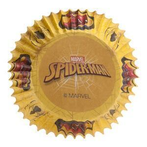 25 pc. Spiderman Standard Baking cups