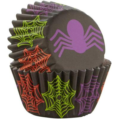 Wilton Mini Baking Cups Spider pk/100