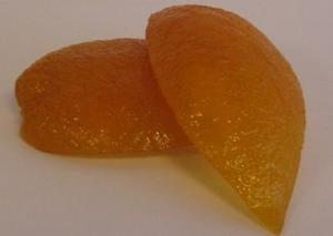 Seville orange, Candied 125 g.