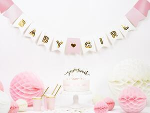 1 pc. Banner Baby Girl, mix, 15 x 175 cm