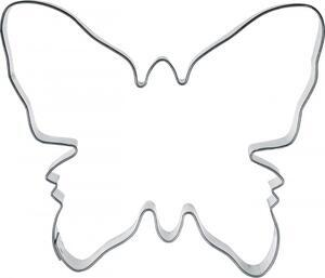 Butterfly big metal cutter 10,2 x 8,9 cm.