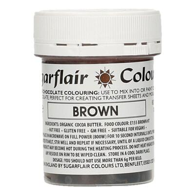 Brown cocoabutter 35 g. Sugarflair