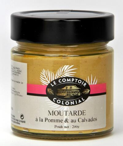 Apple & Calvados mustard 200 g.