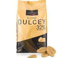 Valrhona Blond DULCEY chocolate couverture 32% 3 kg.