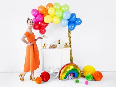 1 pc. Foil balloon Rainbow, mix, 73x45cm