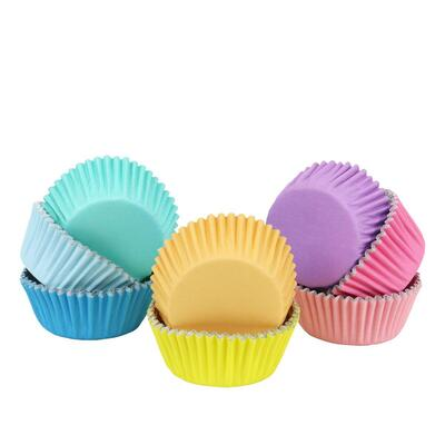 Baking Cups Pastel Colour pk/100