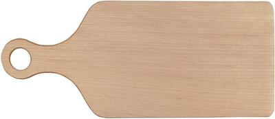 Wood Cutting Board with Handle - 34cm.