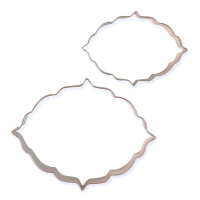 Cookie and Cake Plaque Style 6 Set/2