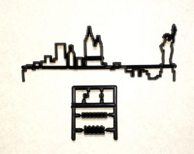 New York Skyline 14cm x 4cm