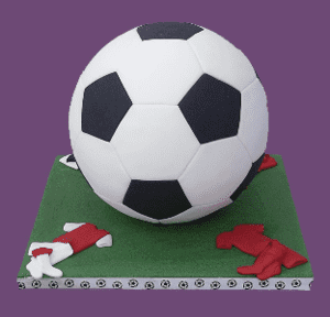 Football Cutters For 15 cm. Diameter Cake