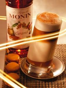 MONIN Caramel syrup 250 ml.