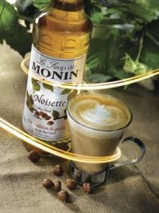 MONIN Hazelnut syrup 250 ml.