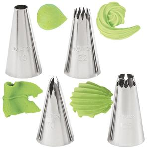 Wilton 4-Pc. Borders Tip Set