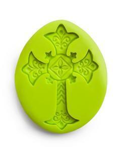 Cross silicone Mould 3D